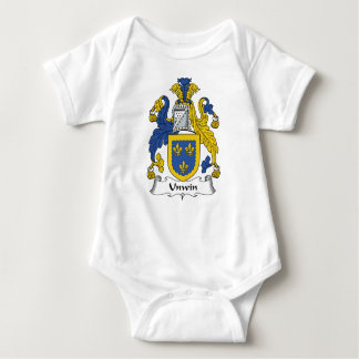 Escudo de la familia de Unwin Mameluco De Bebé
