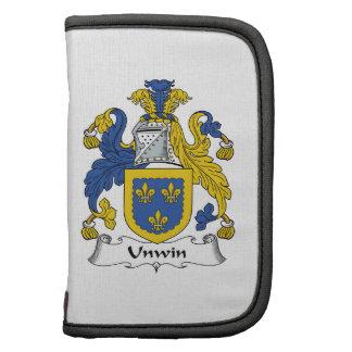 Escudo de la familia de Unwin Organizador