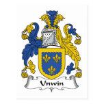 Escudo de la familia de Unwin Postal