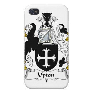 Escudo de la familia de Upton iPhone 4 Carcasa