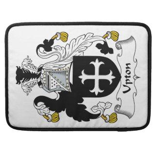 Escudo de la familia de Upton Fundas Para Macbook Pro