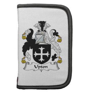 Escudo de la familia de Upton Organizador