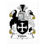 Escudo de la familia de Upton Postal
