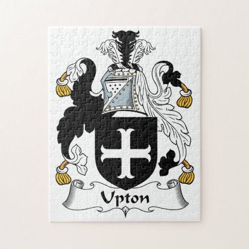 Escudo de la familia de Upton Puzzle