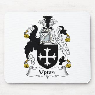 Escudo de la familia de Upton Tapete De Ratones