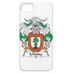 Escudo de la familia de Urbina iPhone 5 Case-Mate Carcasas