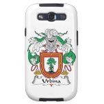 Escudo de la familia de Urbina Galaxy S3 Carcasa