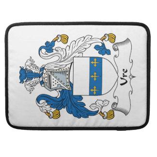 Escudo de la familia de Ure Funda Para Macbooks