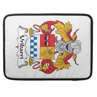 Escudo de la familia de Uribarri Fundas Para Macbooks
