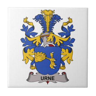 Escudo de la familia de Urne Tejas Cerámicas