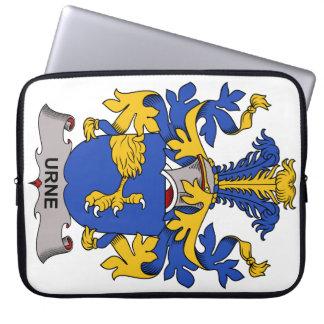 Escudo de la familia de Urne Fundas Computadoras