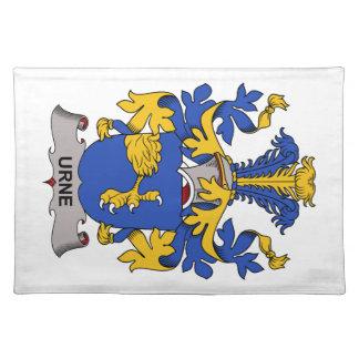 Escudo de la familia de Urne Manteles Individuales