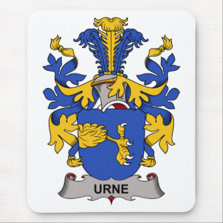 Escudo de la familia de Urne Tapetes De Ratón