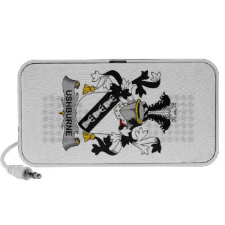 Escudo de la familia de Ushburne iPhone Altavoz