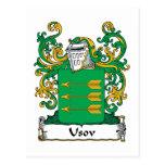 Escudo de la familia de Usov Postal