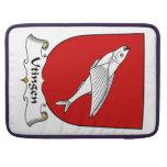 Escudo de la familia de Utingen Funda Macbook Pro