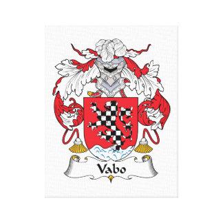 Escudo de la familia de Vabo Lona Estirada Galerias