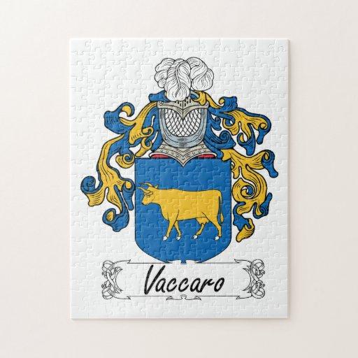Escudo de la familia de Vaccaro Puzzles
