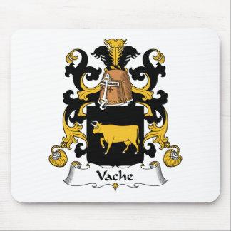 Escudo de la familia de Vache Alfombrillas De Raton