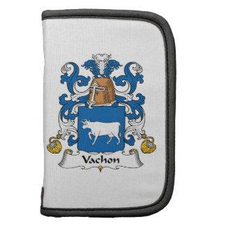 Escudo de la familia de Vachon Organizadores