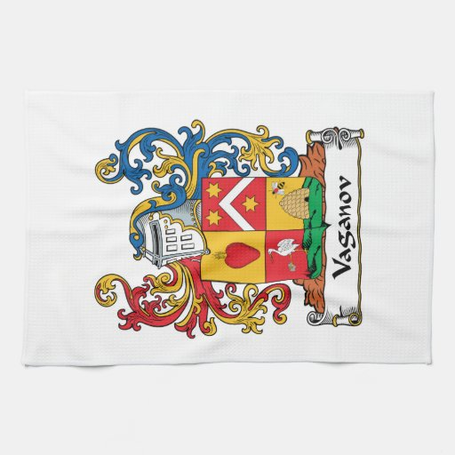 Escudo de la familia de Vaganov Toalla