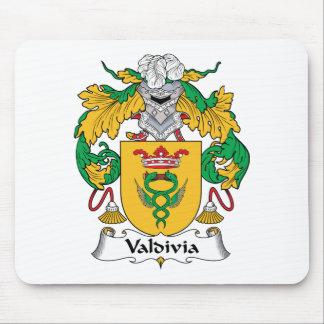 Escudo de la familia de Valdivia Alfombrillas De Ratones