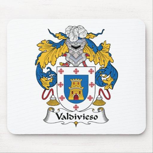 Escudo de la familia de Valdivieso Alfombrilla De Raton