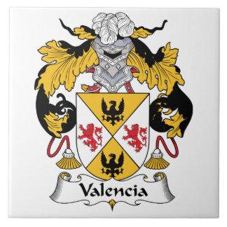 Escudo de la familia de Valencia Azulejos