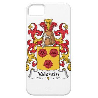 Escudo de la familia de Valentin iPhone 5 Fundas