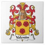 Escudo de la familia de Valentin Tejas Ceramicas