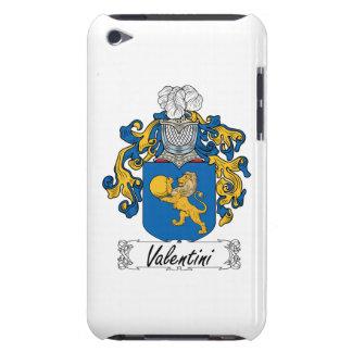 Escudo de la familia de Valentini iPod Touch Funda