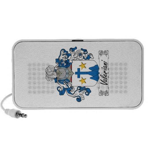 Escudo de la familia de Valeriani iPod Altavoz