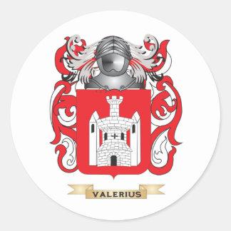 Escudo de la familia de Valerius escudo de armas Etiquetas