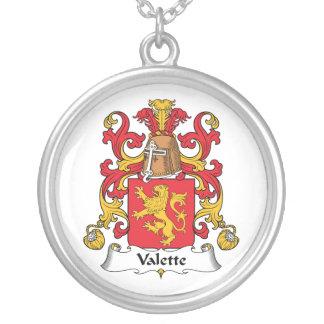 Escudo de la familia de Valette Colgantes Personalizados