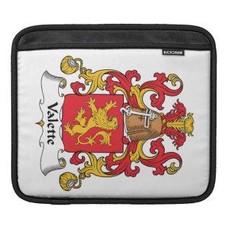 Escudo de la familia de Valette Funda Para iPads