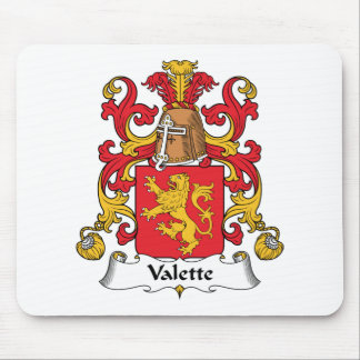 Escudo de la familia de Valette Tapetes De Raton