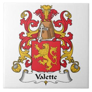 Escudo de la familia de Valette Teja