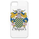 Escudo de la familia de Valladares iPhone 5 Case-Mate Funda