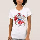 Escudo de la familia de Valle Camisetas