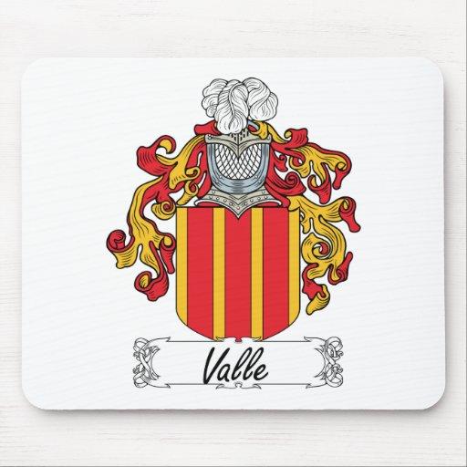 Escudo de la familia de Valle Tapetes De Ratones