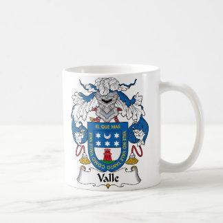 Escudo de la familia de Valle Tazas De Café