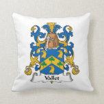 Escudo de la familia de Vallet Cojin
