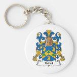 Escudo de la familia de Vallet Llavero