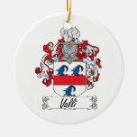 Escudo de la familia de Valli Ornamento De Reyes Magos