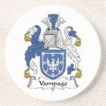 Escudo de la familia de Vampage Posavasos Cerveza