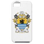 Escudo de la familia de Van Bergen iPhone 5 Case-Mate Cárcasas