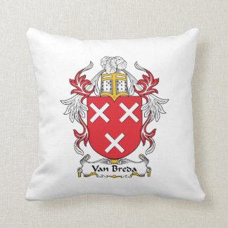 Escudo de la familia de Van Breda Cojin