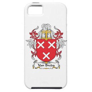 Escudo de la familia de Van Breda iPhone 5 Case-Mate Cárcasas