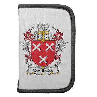 Escudo de la familia de Van Breda Organizador