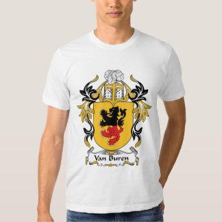Escudo de la familia de Van Buren Camisas